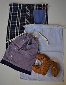 Úžitkový textil - Zero waste Košelák - 13130089_