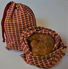Úžitkový textil - Bavlnené vrecko (22 cm x 30 cm - Pestrofarebná) - 13130546_