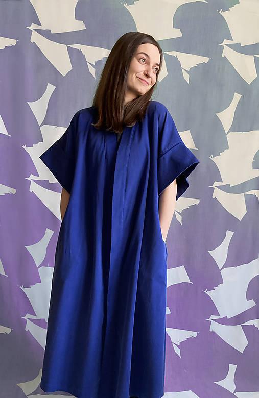 Šaty - SUSTAINABLE KIMONO cardigan / šaty - 13131610_