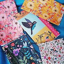 Textil - Fat quarter set Aviary - 13133726_