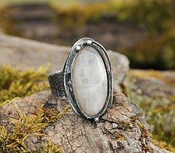 Prstene - Mesačný kameň - 13133741_
