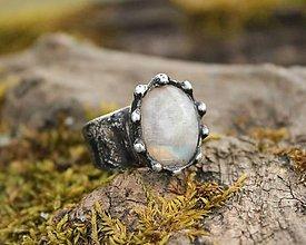 Prstene - Mesačný kameň - 13133800_