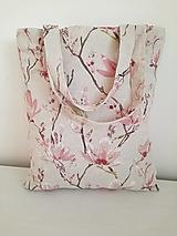 Nákupné tašky - Magnólie - 13135743_