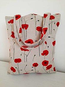Nákupné tašky - Maky na režnej bavlne - 13132340_