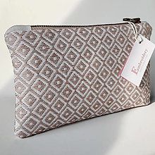 Kabelky - Ručne vyšívaná elegantná kabelka do ruky - misty rose - 13133038_