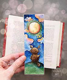 Papiernictvo - Prispejem mojim svetielkom / zo série Lesné bytosti - 13135829_
