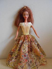 Hračky - Šaty pre barbie - 13136555_