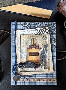 Papiernictvo - Gentleman II. vintage pohľadnica - 13138163_