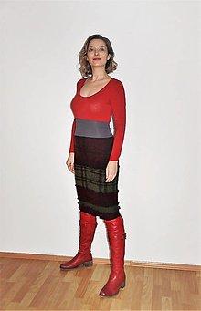 Sukne - teplúčka recy-sukňa - 13139756_