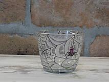 Svietidlá a sviečky - Kolekcia Pavúčik - Svietnik - 13138777_