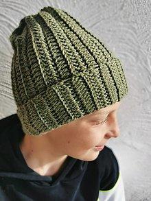 Detské čiapky - Čiapka merino jarná - 13139671_