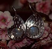Náušnice - Měsíčkové - 13141299_