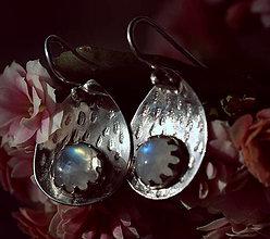 Náušnice - Měsíčkové - 13141296_