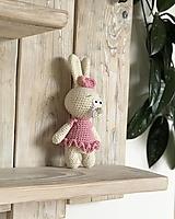 Hračky - Zajko slečna  - 13143915_