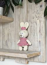 Hračky - Zajko slečna  - 13143917_
