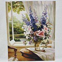 Obrazy - Reprodukcia- Zátišie s kvetmi - 13146342_