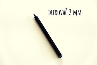 Pomôcky/Nástroje - Dierovač 2 mm - 13146132_