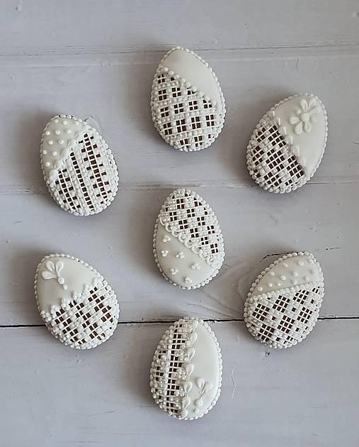 Dekorácie - Perníkové vajíčka MINI - 13144946_