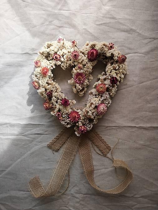 Dekorácie - Limonkové srdce - 13143176_