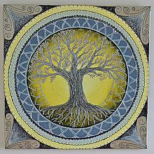 Obrazy - Rodinný strom života - 13143064_