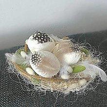 Dekorácie - Veľkonočné hniezdo - 13148102_