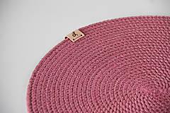 Úžitkový textil - Sada prostírání růžová - 13151255_