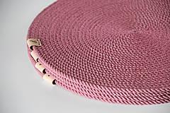 Úžitkový textil - Sada prostírání růžová - 13151256_