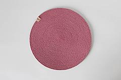 Úžitkový textil - Sada prostírání růžová - 13151257_