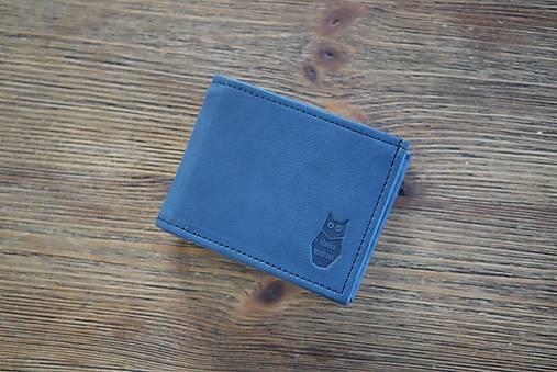 Peňaženky - Kožená peňaženka na doklady - Alex Klasik a RFID fólie - 13148156_