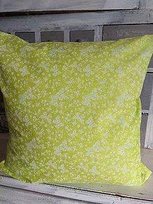 Úžitkový textil - Vankúš s motýľmi - 13149286_