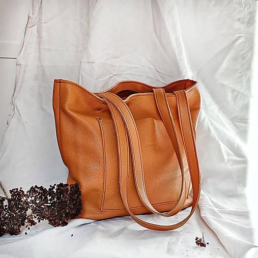 Nákupné tašky - Nina (oranžová) - 13146807_