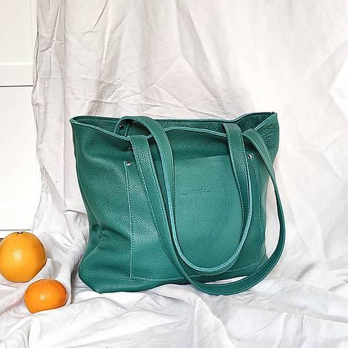 Nákupné tašky - Nina (zelená) - 13146815_