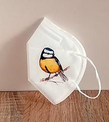 Rúška - respirátor vtáčik - 13149033_