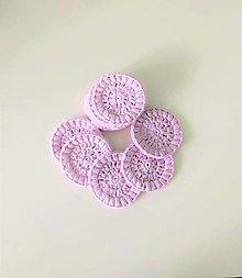 Úžitkový textil - Háčkované odličovacie tampóny - 13149681_