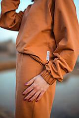Šaty - Škoricový set – mikina a sukňa - 13148261_