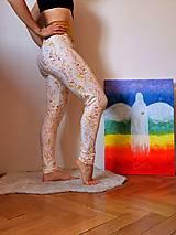 Nohavice - Legíny béžové LÚKA - 13155851_