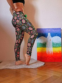 Nohavice - Legíny boho - 13155901_