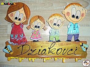 Tabuľky - Menovka - rodinka - 13154843_
