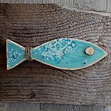 Nábytok - Vešiak na kľúče rybka - 13152194_