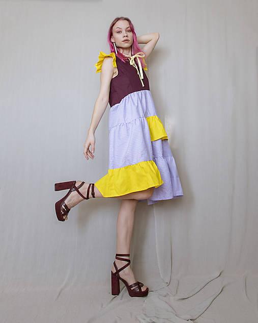 Šaty - Šaty levanduľa - 13152548_