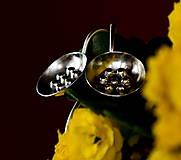 Náušnice - Stříbřenky - 13155107_