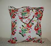 Nákupné tašky - nákupná ľudová - 13154157_