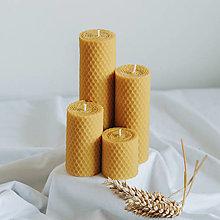 Svietidlá a sviečky - Adventné sviečky 160,120,80,50x45mm - 13156967_