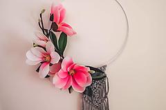 Dekorácie - jarná dekorácia na zavesenie - 13159446_