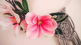 Dekorácie - jarná dekorácia na zavesenie - 13159447_