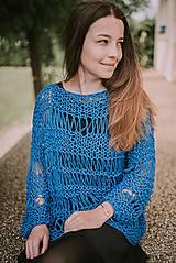 Topy - Romantický top, dlhé rukávy - 100% bavlna - 13156703_