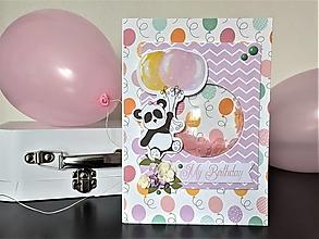 Papiernictvo - My Birthday hŕkacia pohľadnica - 13157130_