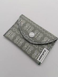 Peňaženky - púzdro na karty, vizitky - 13158528_