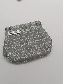 Peňaženky - peňaženka mincovka - 13158547_