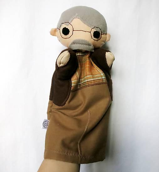 Maňuška deduško (s okuliarmi)